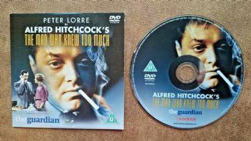 The Man Who Knew Too Much  DVD Originally Released  by the Guardian